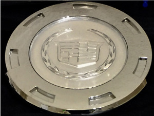 New 07 14 Plain Crest Cadillac Escalade 22 Wheel Center Cap Hub 7 Spoke