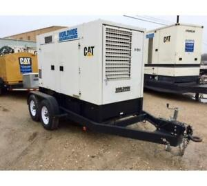68kw Multi Voltage Multiquip Dca 85usj2 Portable Generator Set