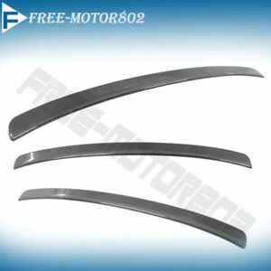 For 02 06 Acura Rsx Dc5 Rear Trunk Spoiler Wing Carbon Fiber Mini Deck Lid Wing