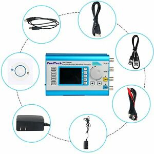 Frequency Generator Signal High Precision Dds Function Waveform Pulse Meter New