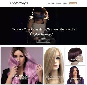 Hair Wigs Website For Sale Earn 191 A Sale Free Domain hosting