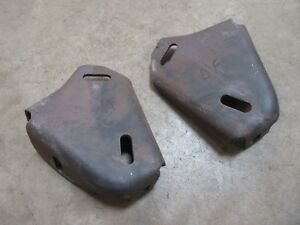 1970 Pontiac Catalina Front Bumper Frame Mounting Brackets Pair Hot Rod Parts