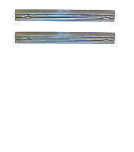 Jeep willys Station Wagon 2 Door Rocker Panel Set 1946 63 Schott Free Shipping