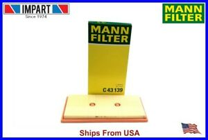 Mercedes Benz Intake Air Filter 276 094 00 04 Mann Filter C43139