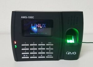 Amg 100c Biometric Finger Print Reader Employee Time Clock