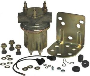 Carter P4389 Boat Universal Inline Electric Fuel Pump Marine Rotary Engines 12v