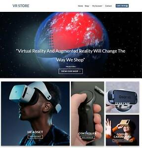 Vr Store Website Business For Sale Earn 448 A Sale Hosting free Domain