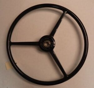 Flxible 20 3 spoke Black Steering Wheel P n 16323