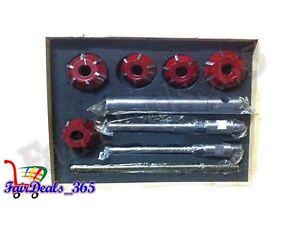 Carbide Valve Seat Cutter 5 Cutter Set For Vintage Modern Car Bikes
