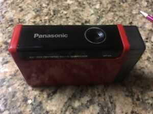 Vintage Panasonic Made In Japan Red Pencil Sharpener Kp 2a Battery Operated