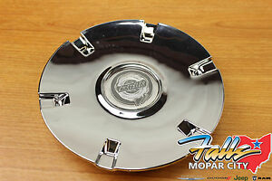 2005 2006 Chrysler Pacifica Chrome Wheel Center Cap Mopar Oem