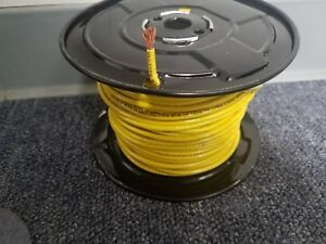 150 Thhn 10 Awg Gauge Yellow Nylon Stranded Copper Building Wire