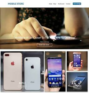 Mobile Store Website Business For Sale Earn 574 A Sale Domain traffic