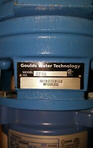 Goulds Water Technology 1 Hp Centrifugal Pump 115 230 Voltage 1 1 2 Inlet in