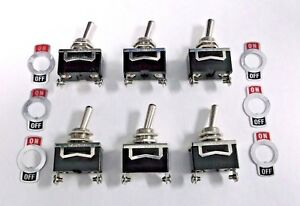 Special Offer 6 Bbt On Off 10 A 12 V Vintage Type Toggle Switches