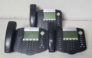Polycom Soundpoint Ip 650 Ip650 Sip 2201 12630 001 Office Phones With Handsets