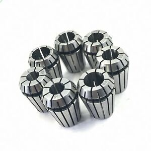 7pcs Precision Er8 Spring Collet Set 2 2 5 3 3 5 4 4 5 5mm m_m_s