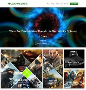 Xbox Games Website Business Earn 349 A Sale Domain hosting traffic