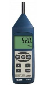 Reed Instruments Sd 4023 Sound Level Meter Type 2 Data Logger New Sd4023