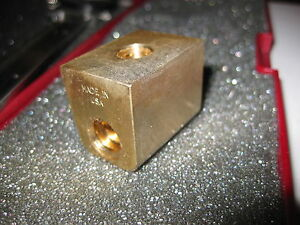New Early Sheldon Lathe Cross Slide Crossfeed Bronze Nut Made In Usa