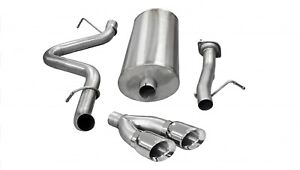 Corsa Performance 14898 Sport Cat Back Exhaust System