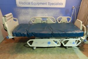 Hill rom P 1900 Total Care Bed With Pressure Reducing Foam Mattress scale Etc
