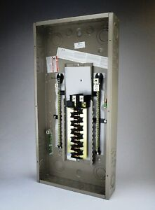Eaton Ch24nlpn125e 24 Circuit 125 amp Sz E Plug On Neutral Load Center Main Lug