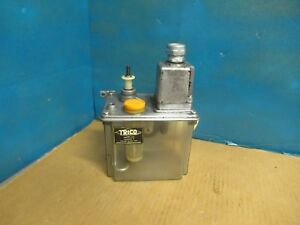 Trico Lube Lubrication Pump 120 Vac Pulses At 5 Minute Intervals Model Unknown