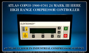 Atlas Copco 1900070124 Elektronikon Programmed With Your Compressor s Settings