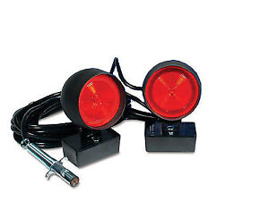Custer Heavy Duty Towing Lights 90 Square Magnet