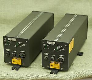 Lot 2 Hp Agilent 5501a Laser Transducer As is Parts Repair