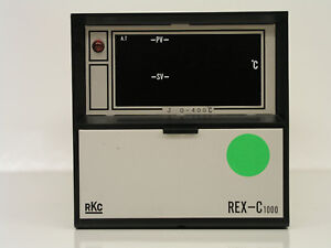 Rkc Rex C 1000 Pid Temperature Controller 0 400 C Type J Thermocouple Japan