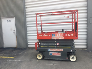 2012 Skyjack 19 Electric Scissor Lift Sjiii3219