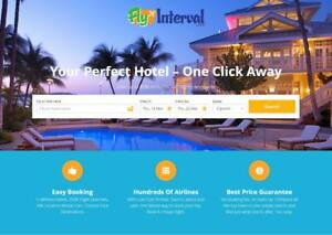 Automated Travel Turnkey Website Business For Sale Hotel Flight Trips Book