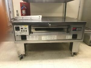 Middleby Marshall Ps570g Single Stack N g Pizza Conveyor Oven