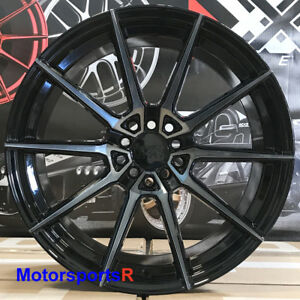 Xxr 567 Wheels 18x8 5 20 Phantom Black Rims 5x114 3 Mitsubishi Evolution X Mr