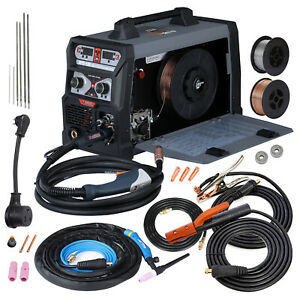 Mts 185 Amp Multiprocess Welder 3 in 1 Mig Flux Cored Tig Stick Arc Welding