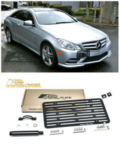 Eos For 10 12 Mercedes benz E class Coupe Full Sized Tow Hook License Plate