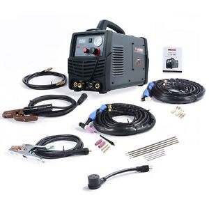 Cts 180 Combo 40a Plasma Cutter 180a Tig Torch stick arc Welder 3 in 1 Welding