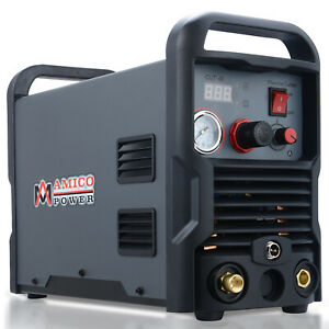 Amico Cut 40 40 Amp Air Plasma Cutter 110 230 Dual Voltage Cutting Machine New
