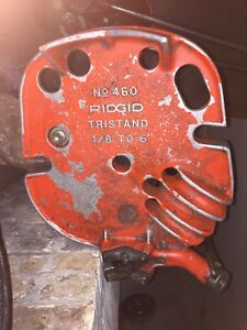 Ridgid 36273 Model 460 6 Portable Tristand Chain Vise 1 8 inch To 6 inch Pipe V