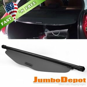 Us Black Rear Trunk Tonneau Cargo Cover Shade Fit For Nissan Rogue X trail 14 16