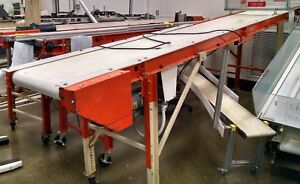14 emi Rm 18 14 20 Portable Belt Conveyor
