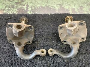 Factory 1932 1948 Ford Front Spindles Square Rat Hot Rod Gasser Model A