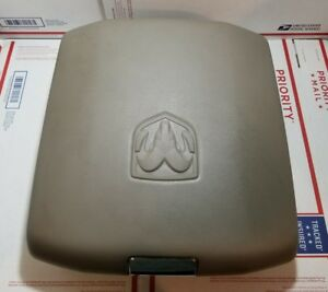 2011 2016 Dodge Ram 1500 2500 Center Console Armrest Arm Rest Assembly Grey
