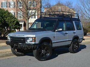 Land Rover Discovery 2 Heavy Duty Front Steel Bumper With Winch Mount New
