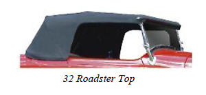 Ford Roadster Rdstr Pickup Convertible Custom Top Assembly Speedway 1928 1932
