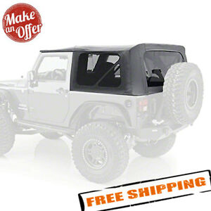 Smittybilt 9075235 Soft Top W Tinted Windows For 2010 2018 Wrangler Jk 2 Door