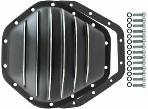 Black Aluminum Chevy Gmc 14 Bolt Diff 10 5 Rg Differential Cover 2500hd 3500hd
