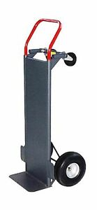 Milwaukee Hand Trucks 30087 Hand Truck With Solid Platform And 10 inch Pneuma